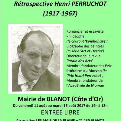 """Retour sur l'exposition """"Rétrospective Henri PERRUCHOT (1917-1967)"""""""