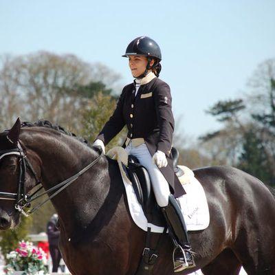PLR 2018/06, Léna Thouvenin, membre du « Team PLR Equitation »