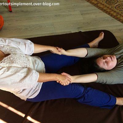 17 mars matin : Massage Tanaka, massage et souffle de vie