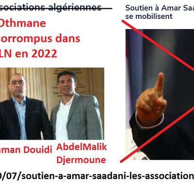 Non M. Othman Douidi, la communauté algérienne ne soutient pas les corrompus !!!