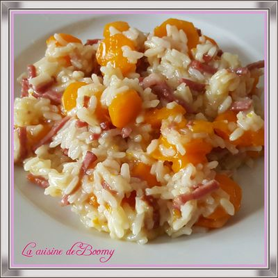 Risotto carottes bacon (Cookeo)