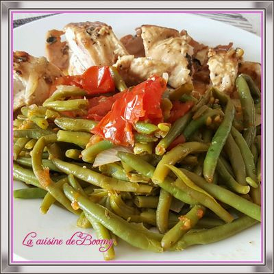 Haricots verts à l'italienne (Cookeo)