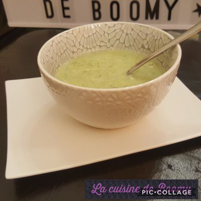 Velouté de courgettes (I-cook'in)