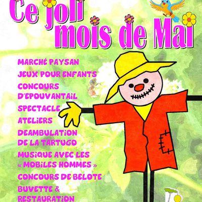 Dimanche 19 Mai 2019 : Joli Mois de Mai à Lignan-Sur-Orb