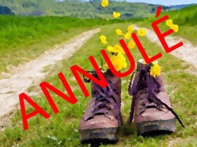 ANNULÉ - La sortie pédestre approche
