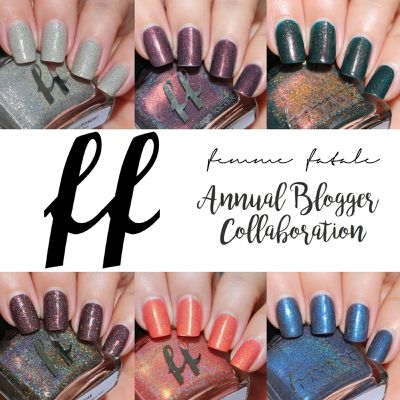 Femme Fatale Cosmetics Annual Blogger Collaboration