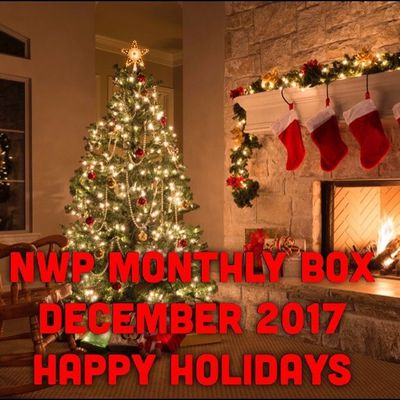 Native War Paints Monthly Box - December 2017 - Happy Holidays