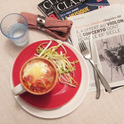 Mug gratin de ravioli