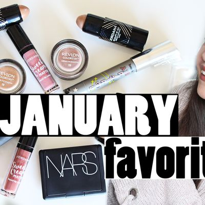 January Beauty Favorites 2017! New Drugstore Makeup!