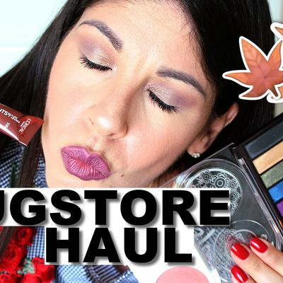 Fall Drugstore Makeup HAUL!!! 2017