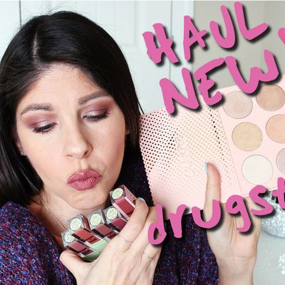 HAUL NEW Drugstore Makeup! 2018