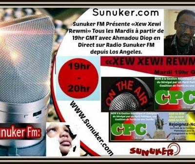 "Emission ""Xew Xewi Rewmi"" du mardi 24 Avril 2018 avec Ahmadou Diop: WORKAT SAC CI KAT -FENKAT BUMAK BII- DI DIAY DOLEY- DIAY KO DOLEY MOKO FIY DIEULÈ."
