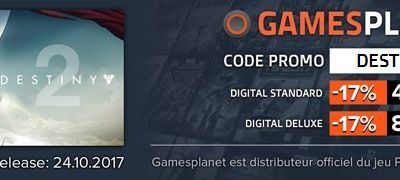 PROMO - Destiny 2 - Gamesplanet