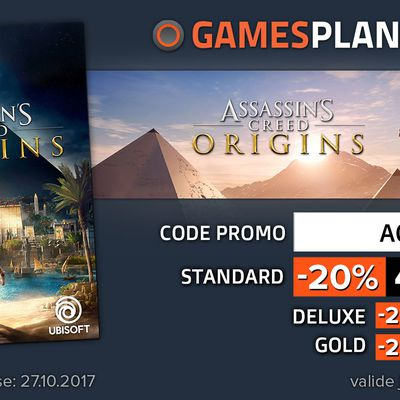 Notre BONPLAN Partenaire Gamesplanet : Assassin's Creed Origins  !