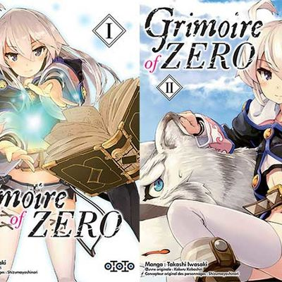 Les éditions Ototo annoncent et datent dans son catalogue le manga Grimoire of Zero ! via @Ototoedition