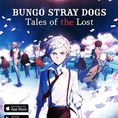 Le jeu BUNGO STRAY DOGS – TALES OF THE LOST disponible sur mobile