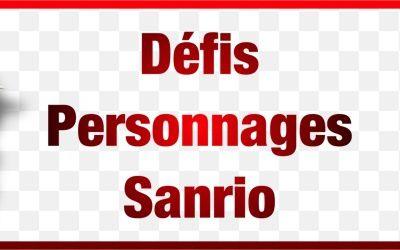 Défis Sanrio : en cours d'illustration