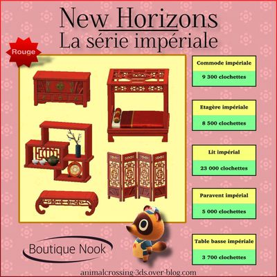 La collection impériale (New Horizons) :