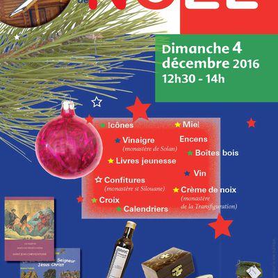 Petit marché de Noël à l'Eglise Orthodoxe Russe de Nantes