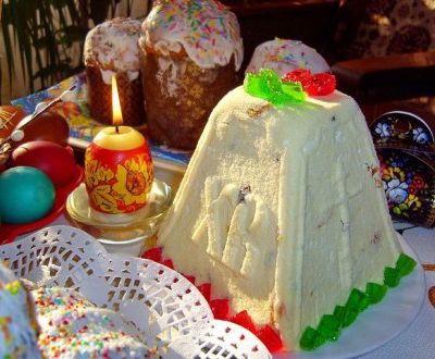 Desserts traditionnels de Pâques russe : PASKHA