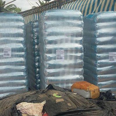 Les 5400 kilos de croquettes collectées via Animal Web Actions sont arrivés au refuge