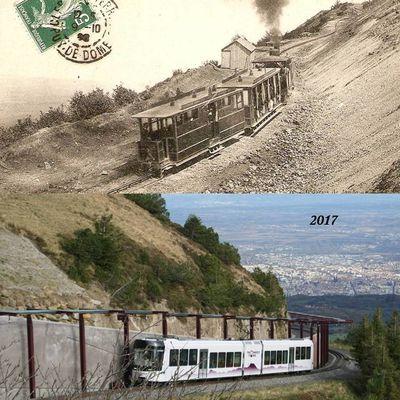 Du tram au panoramique au Puy de Dome