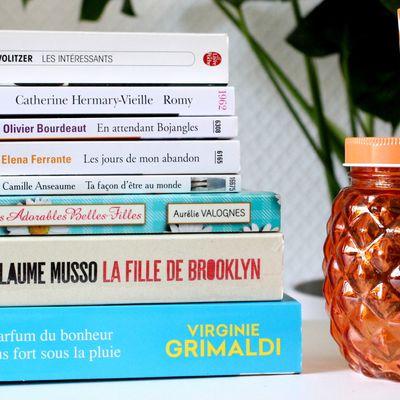 📚 Les livres de mon été