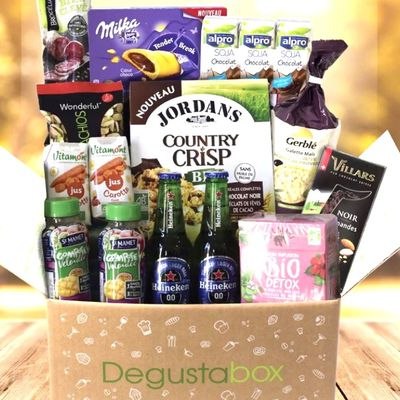 What's in the Degustabox : septembre 2017
