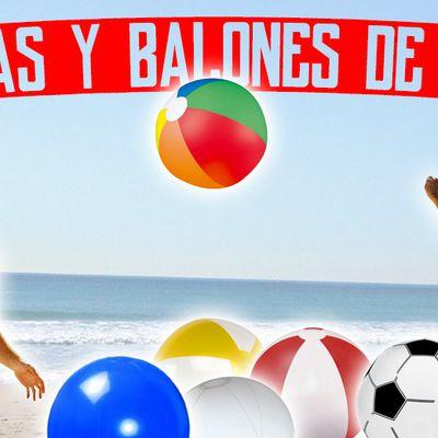 Artículos personalizados para playa y verano