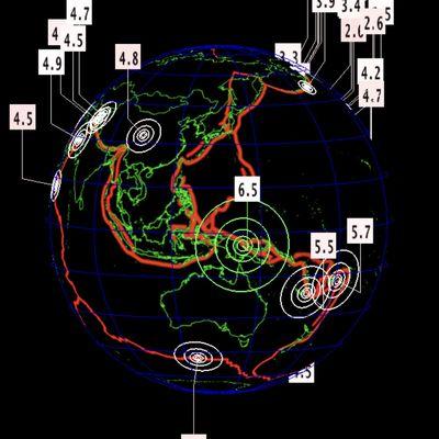 Séisme de magnitude 6.5 en Papouasie-Nouvelle-Guinée