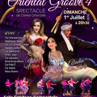 """ORIENTAL GROOVE"" is back à Bordeaux"