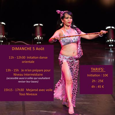 Intensive Bellydance Summer Workshop à Bordeaux