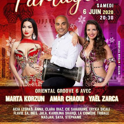 PARTAGER, un spectacle de danse orientale poétique au Bouscat (Bordeaux) en Juin