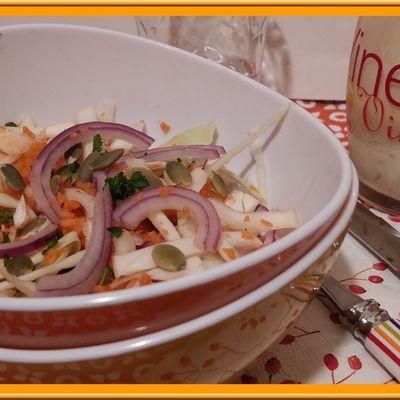 Salade croquante d'hiver