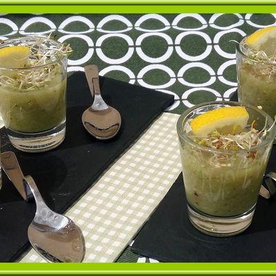 Soupe de Concombre et Menthe