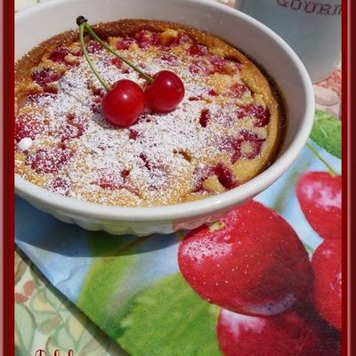 Clafoutis aux cerises aigres