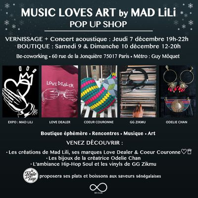 MUSIC LOVES ART by MAD LiLi