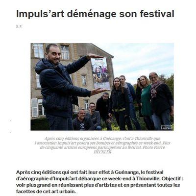 Festival IMPULS'ART  Tout le week-end sous les Arts  !