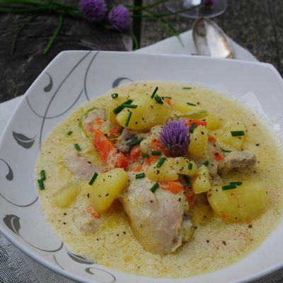 Waterzooï de poulet au Cook Processor de KitchenAid