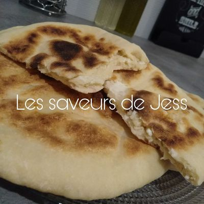 Naans aux fromage