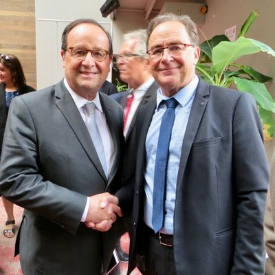 Rencontre ave François Hollande