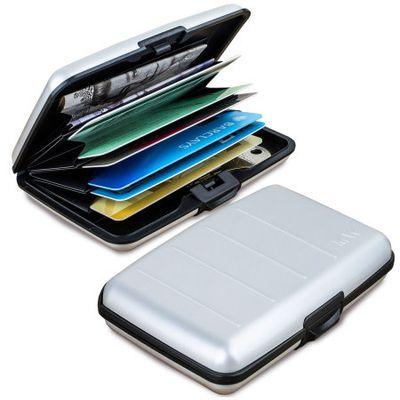 Test - Portefeuille Renforcé Aluminium type Accordéon avec Protection RFID