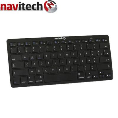 Test - Clavier Bluetooth AZERTY Universel veille automatique Navitech