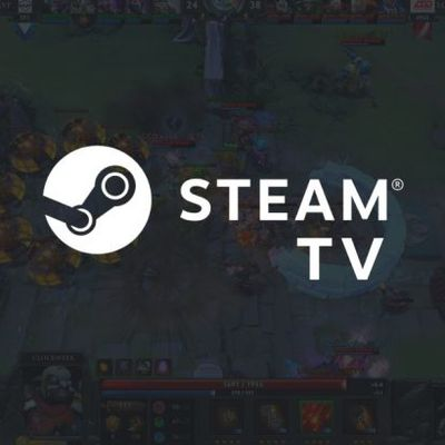 Révéation accidentelle de la plateforme de streaming Steam TV par Valve!!