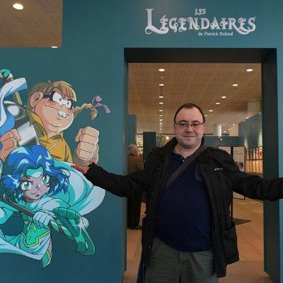 Les réactions de Patrick Sobral à l'ouverture de l'exposition de Limoges !