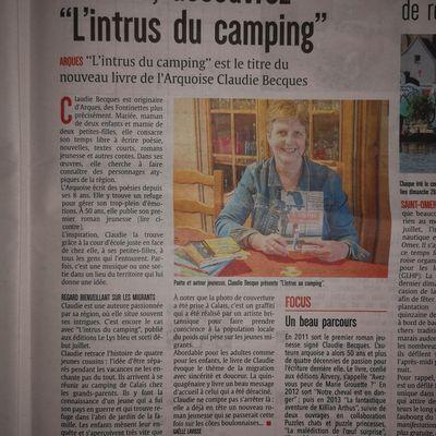 L'intrus du camping #LysBleuEditions