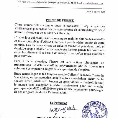 Tchad: l'ultimatum donné au Gouvernement expire, vers la mobilisation générale