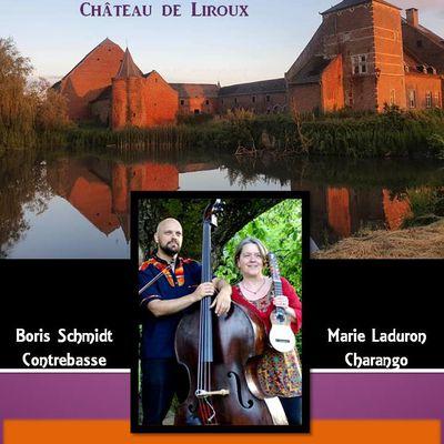 Concert à la grange  au Château de Liroux