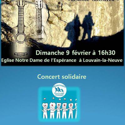 Concert solidaire pour la Plateforme citoyenne d'accueil des réfugiés