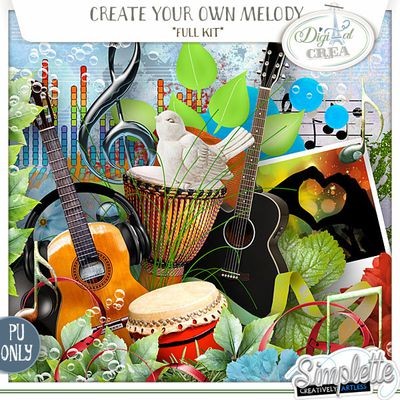 Create your own Melody *** new kit ***